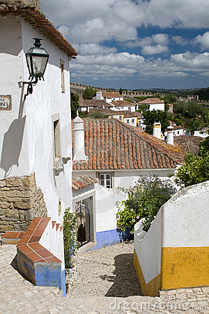 A street of Obidos city