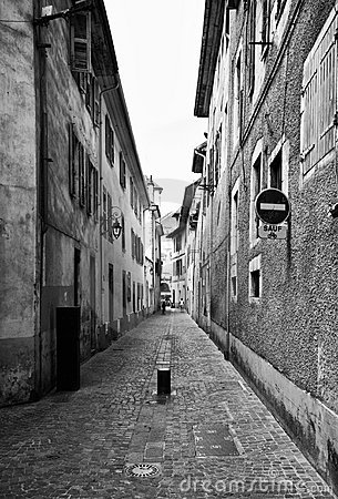 Free Street Of Chambery, France Royalty Free Stock Image - 6043586