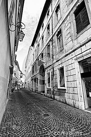 Free Street Of Chambery, France Stock Photos - 6043963