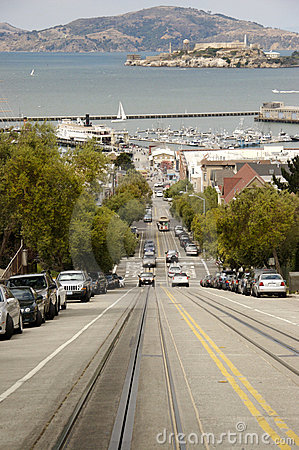 Free Street Of San Francisco Royalty Free Stock Photography - 1544717