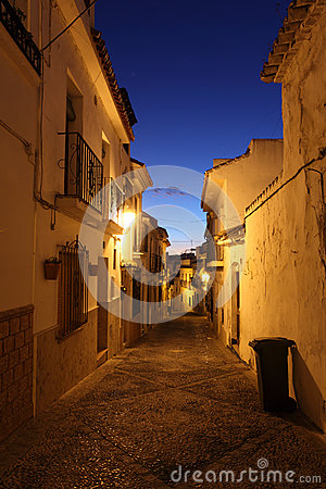 Street in the old town of Estepona