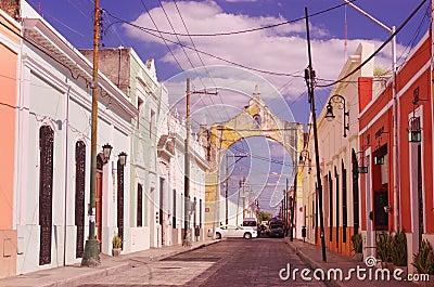 A street in Merida