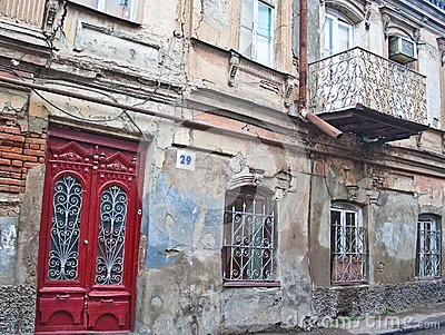 Street in the old town. Tbilisi