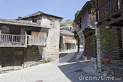 A street in Penalba de Santiago