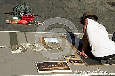 Street Performance Artist, Syd