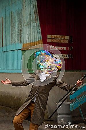 Free Street Performer Royalty Free Stock Image - 108390646