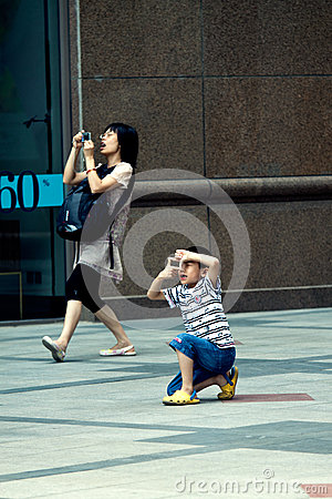 Free Street Photo, Funny Moment Royalty Free Stock Image - 65949826