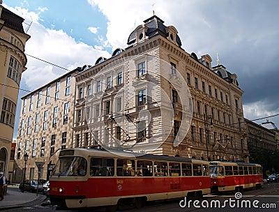 Street of Prague,Europe