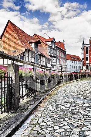 Street in Quedlinburg