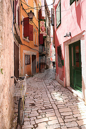 Street of Rovinj, Croatia