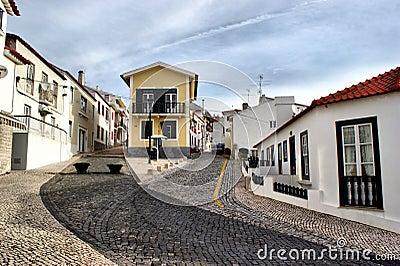 Street in S. Pedro de Moel