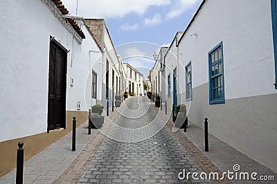 Street in San Miguel, Tenerife