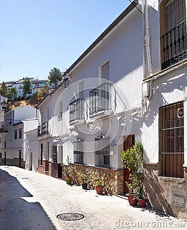 Street of Setenil