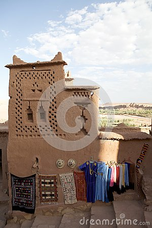 Street shops at Aid Benhaddou