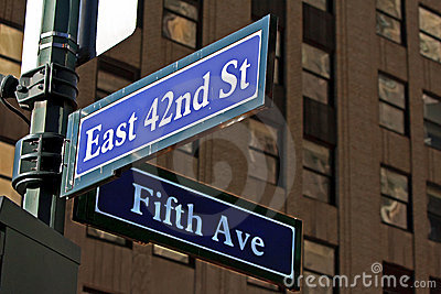 Street Sign in NYC