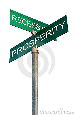 Free Street Sign With Financial Terms Stock Images - 4507524