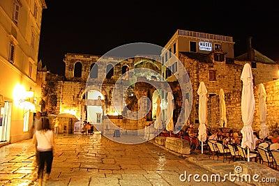 Street of Split, Croatia