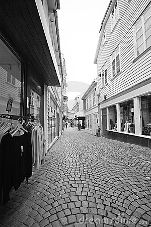 Street of Stavanger, Norway