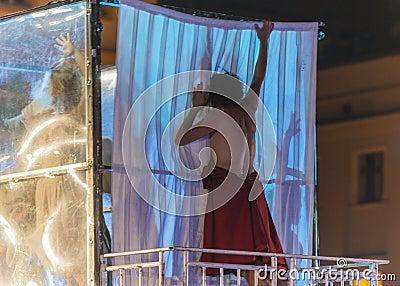 Street Theater KTO Editorial Stock Image