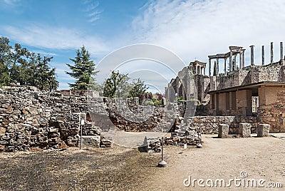 Street to roman amphitheatre