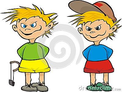 Street urchin - kid