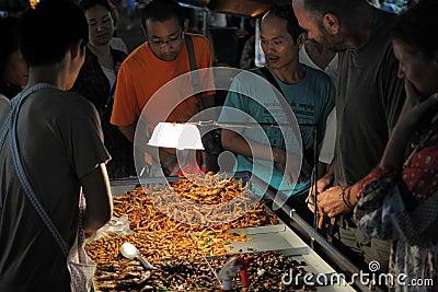 Street Vendor Editorial Stock Image