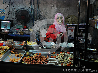 Street Vendor Editorial Image
