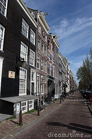 Street view in Amsterdam