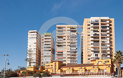 Street view of Malaga