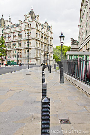 Street view of the Whitehall Court