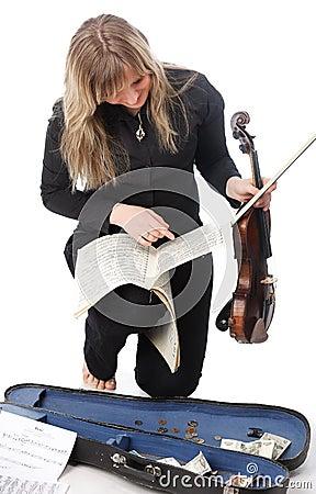 Street violinist