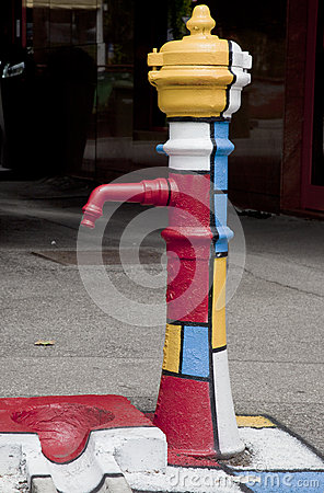 Street water pump