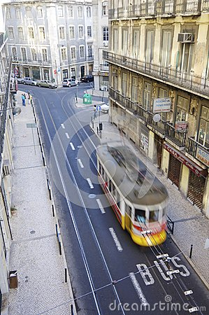 Streetcar Editorial Stock Image