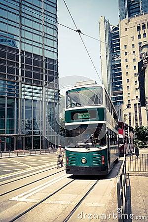Streetcar in hong kong