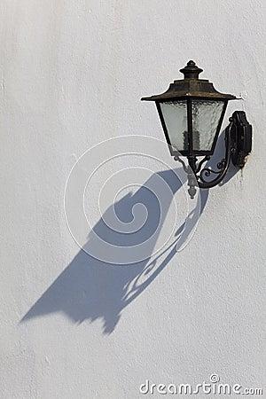 Streetlamp in Espelette