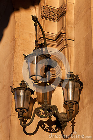 Streetlamp in Paris