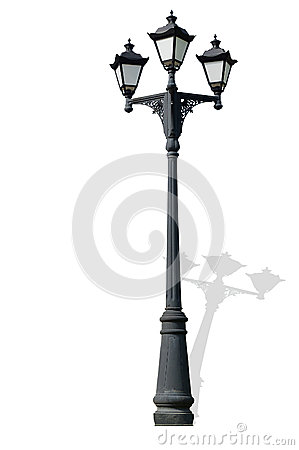 Free Streetlight, Isolated On White Stock Photography - 30935922