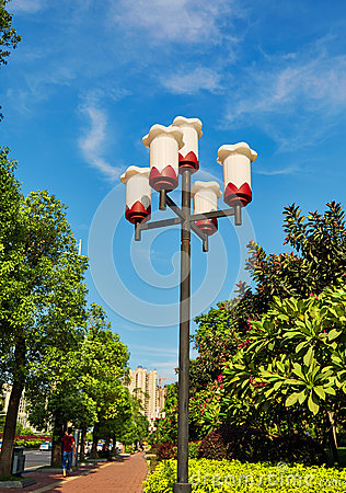 Free Streetlight Road Lamp Street Light Post Outdoor Lighting Lamppost Stock Photography - 57559532