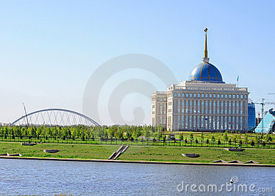 Streets of Astana