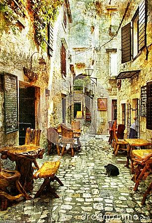 Free Streets Of Croatia Royalty Free Stock Photography - 7778697