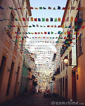 Free Streets Of Salvador, Brazil Royalty Free Stock Photo - 73013325
