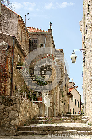 Streets of old Croatia