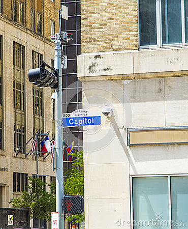 Streetsign capitol street