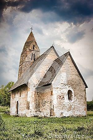 Free Strei Church Stock Image - 10661191
