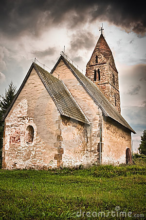 Free Strei Church Royalty Free Stock Image - 10661256