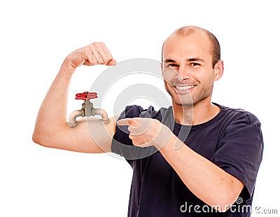 Strength gauge
