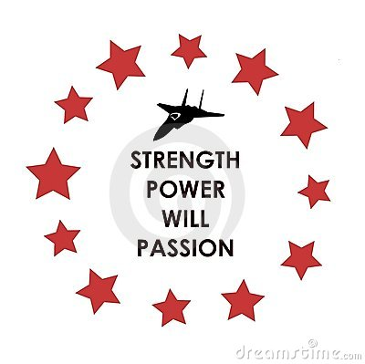 Strength Power Will Passion
