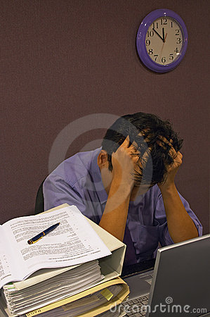 Free Stress At Work Stock Images - 316404