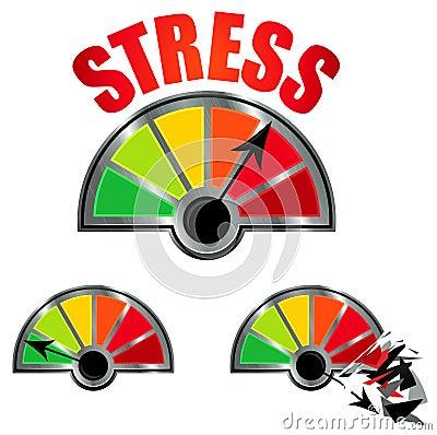 Free Stress Level Meter Stock Photo - 27882160