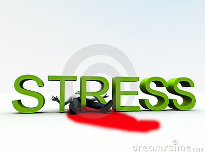 Stress Is Murder 7 Royalty Free Stock Photo - Image: 3849205